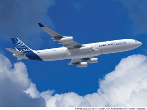 AIRBUS A340-200 PASSENGER for charter
