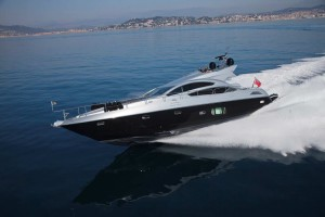 Aqua Blue Ireland Sunseeker Predator 74 for charter