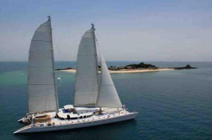 Douce France luxury catamaran for charter