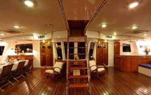 Douce France luxury catamaran for charter