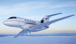HAWKER 4000 for charter