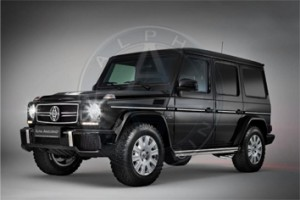 Armored Mercedes G63 LHD
