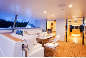 Necker Belle Catamaran for Charter