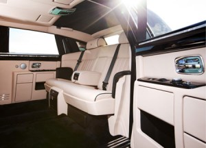 Armored Rolls Royce Phantom Limousine