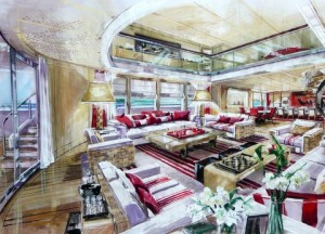 Red Square Megayacht for Sale